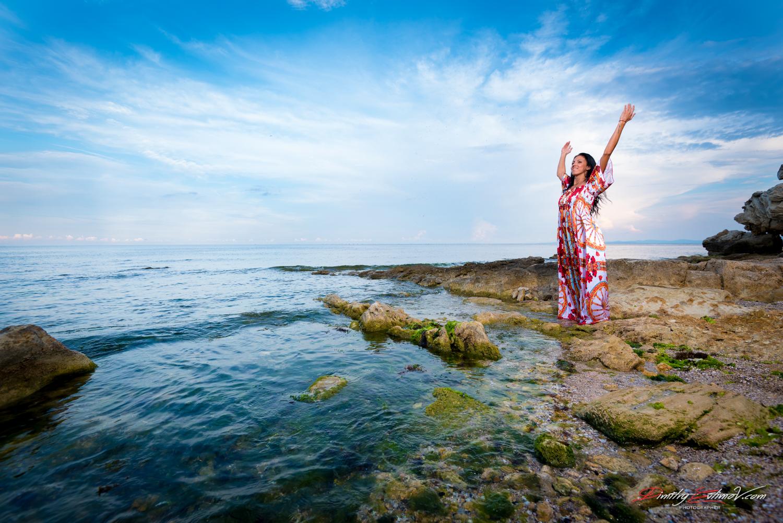Фотосесия на морето